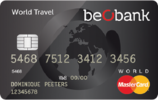 Beobank World Travel MasterCard Kredietkaart